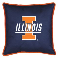 ATHLEZ - Illinois Fighting Illini Sidelines Pillow