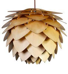 Závěsné stropní svítidlo CONO, dřevěné | claro. - nature inspired