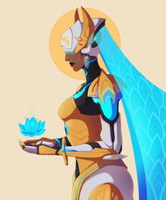 i guess — Satya ''Symmetra'' Vaswani - Actual Space Goddess