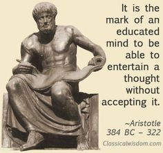 """Father of Democracy In Politica, the first great classic of political science, Aristotle famously surveys a wide variety of socioeconomic systems. Of all the types he explores, one can conclude that Aristotle found democracy """"the most tolerable"""" Aristotle Quotes, Western Philosophy, Great Philosophers, Soul On Fire, Education Quotes For Teachers, Alexander The Great, Zoology, Archaeology, Mindfulness"""