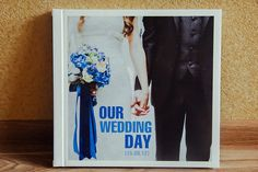 Wedding photobook :) I love making them!