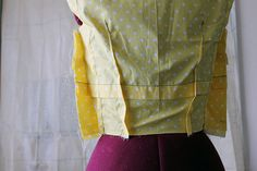 Creating your own basic sloper block is really not as hard as it may sound, and it's a wonderful tool to have when striving for that perfect fitting, professional looking, handmade garment created at home.