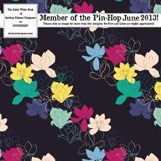 Emma Frances Designs: Pin Hop June 2013 is here!!! - Midnight Magnolias