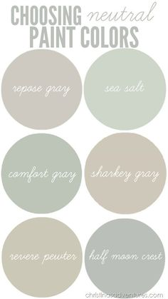 What Are Neutral Colors the saturday 6 | clarks, basements and house