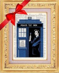 David Tennant As Dr Who  Geekery Dr Who  Buy 2 by TheRekindledPage, $8.98