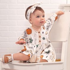 Tesa Babe Thanksgiving Dress - 12-18 Months