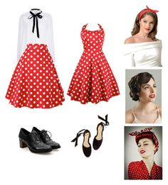 """Arina's pin up look"" by arini-lioni on Polyvore featuring River Island"