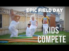 FIELD DAY GAMES | Kids Compete! - YouTube
