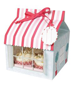 Take a look at this Meri Meri Patisserie Large Cupcake Box - Set of Three on zulily today!