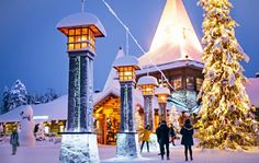 Joulu on täynnä perinteitä - Aidon joulun voi kokea Rovaniemellä