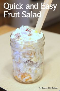 Quick & Easy Fruit Salad - Todays Creative Blog