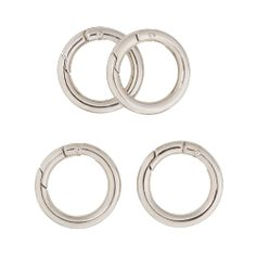 """1"""" Silver Carabiners"""