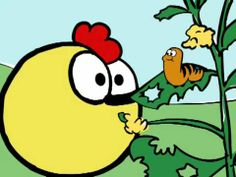 Peep and the Big Wide World: Peep's New Friend - Recommended to use with life cycle of a butterfly - Charlotte's Clips