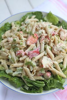 Bring the Cape to your dinner table with a New England Lobster Pasta Salad!