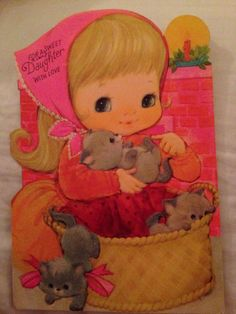 Vintage Hallmark Birthday card. 1971?