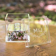 Wedding Ring Box - Personalized