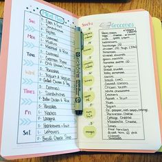 Meal planning in my #travelersnotebook. This is an insert I made (and is available in my Etsy shop if you love it, hiphomeschooling) I printed if three, I have enough room in this insert for 20 weeks of #mealplanning !!!! | bujo | bullet journal | journaling | bullet journaling | bullet journal junkies | bullet journal junkie | bujo junkies | bujo junkie | planner | planner girl | hip homeschooling | hip homeschooling blog |