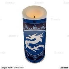Dragon Knot 1 Flameless Candle