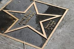 Justin's star outside the Avon Theatre in Stratford, Ontario!!!