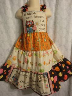 Baby Owl/Easter/Summer/Spring/Party  Girls by BoutiqueGift on Etsy, $50.00