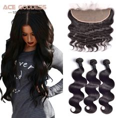 Brazilian Body Wave With Closure,13x4 Ear To Ear Lace Frontal Closure With Bundles,Brazilian Virgin Hair With Closure Human Hair