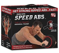 Speed Abs Complete Ab Workout System by Iron Gym Abdominal Roller Wheel >>> Want to know more, click on the image.(This is an Amazon affiliate link and I receive a commission for the sales)