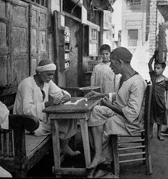 Cairo streets scene, circa by Bob Landry, Life Magazine Old Egypt, Cairo Egypt, Ancient Egypt, Old Photos, Vintage Photos, How To Play Dominoes, Modern Egypt, Visit Egypt, Modern History