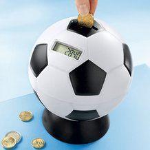 Fußball-Sparball für das nächste WM-Ticket