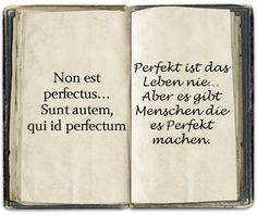 Non est perfectus...
