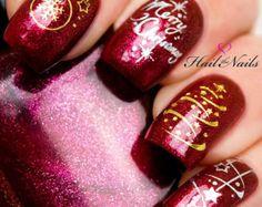 Blanco de uñas de arte pegatinas de uñas etiquetas por Hailthenails