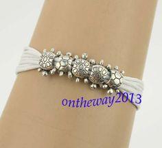 The turtles bracelets five silver sea turtles by ontheway2013, $3.99