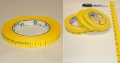 Ruler Decorative Packing Tapes