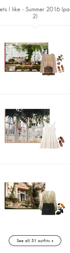 """""""Sets I like - Summer 2016 (part 2)"""" by carillon ❤ liked on Polyvore featuring H&M, Urban Outfitters, OKA, Billabong, Elgin, Jeffrey Campbell, Miss Selfridge, ASOS, Diptyque and Levi's"""