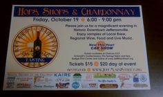 October 19, 2012   Hops, Shops and Chardonnay   Downtown Jeffersonville, Indiana