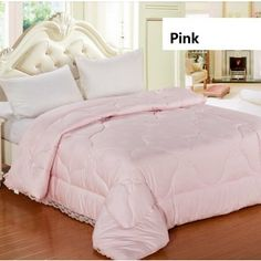 Excellent 100% Cotton Comforters 100% Hypo-Allergenic Quilt And Comforter Soft Comforter Full/Queen Size