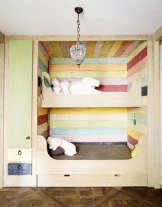 Cute bunk beds!