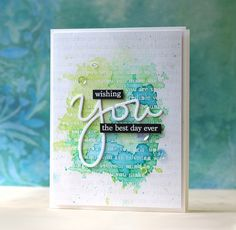 Simon Says Stamp STAMptember® blog hop! Wishing you the best day ever!