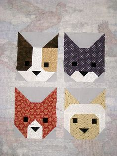 The Kittens | Here is a sample of some of the blocks From El… | Flickr