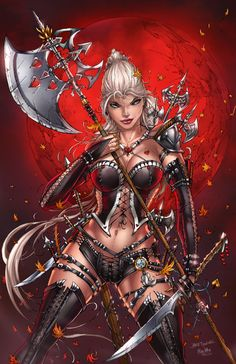 GRIMM FAIRY TALES HELSING #4 Jamie Tyndall Cover C Signed Zenescope Comic Book