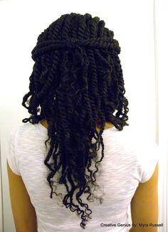 nice Marley Twists, Marley Hair Extensions...