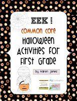 TONS of Halloween Activities for K & 1!