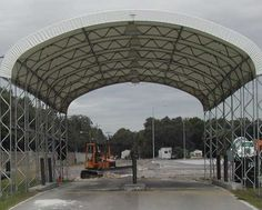 Fabric Structures are the perfect choice for anyone in the construction business. Old projects finish and new projects start but there always seems to be a need for construction site storage. Load your Fabric Structure and take it with you to your next job site. Fabric Structures just make sense for construction related storage and work shop needs.