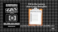 dslr video 5th anniversary survey