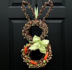Another bunny wreath!