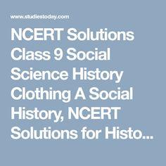 ncert sst book class 9