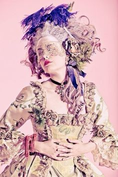 LondonWarrior — Marie Antoinette Couture x