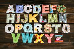Yellow Bird, Yellow Beard | Toy Alphabet Set - Plush | Online Store Powered by Storenvy