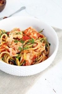 Lobster Tail Fra Dia Diavolo with Zucchini Noodles Recipe