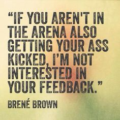 If they're on the sidelines, don't let their opinion impact you.