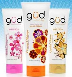 Gud bath products by Burt's Bees - all-natural and smell incredibly GUD!